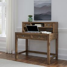 5420-162 Sedona Brown Desk with Hutch