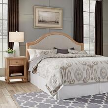 Cambridge King Headboard & Night Stand