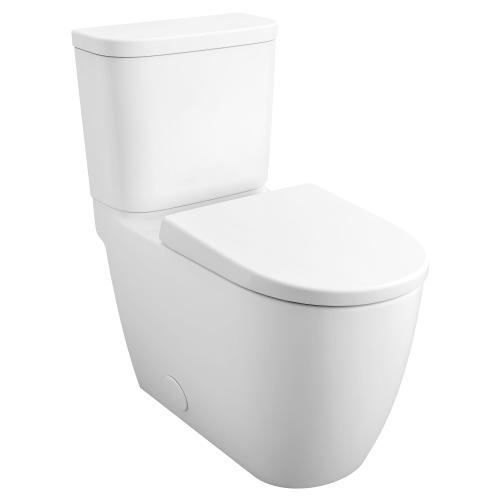 Essence Two-piece Right Height Elongated Toilet With Seat, Right-hand Trip Lever