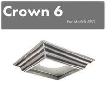 See Details - ZLINE Crown Molding #6 For Island Range Hood (CM6-597i-304)