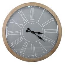 See Details - Wood Wall Clock