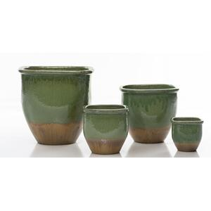Square Kahlo Planter - Set of 3