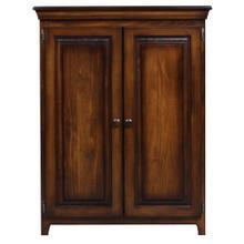 See Details - Solid Pine 2 Door Cabinet