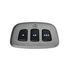 Gentex HomeLink® (5) Grey Bezel