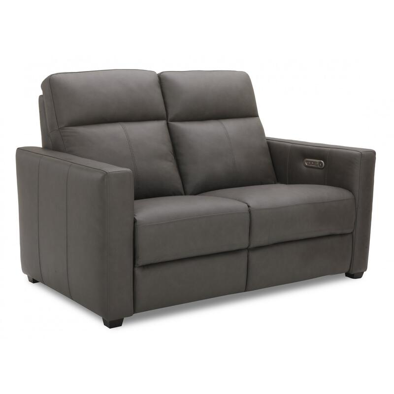 Broadway Power Reclining Loveseat with Power Headrests