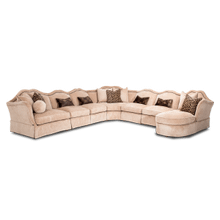 Toledo 7 pc Sectional set
