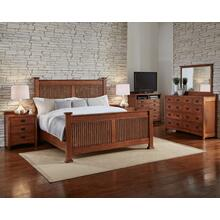 California King Slat Bed