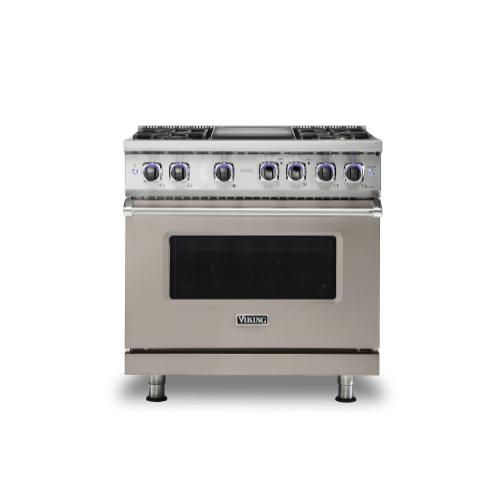 "36"" Dual Fuel Range - VDR7362 Viking 7 Series"