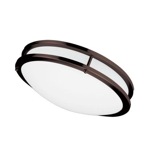"Product Image - Ceiling Flush 26w 410mm (16""), Bronze"