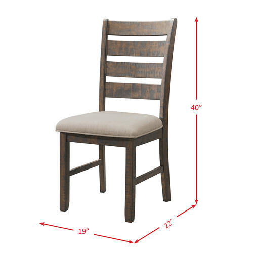 Jax Ladder Back Side Chair Set