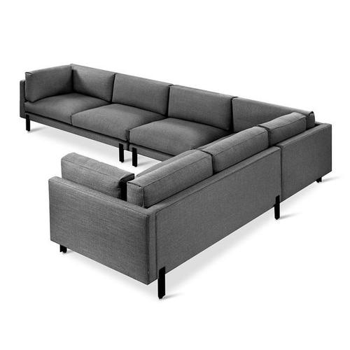 Product Image - Silverlake XL Sectional Andorra Pewter / Right Facing