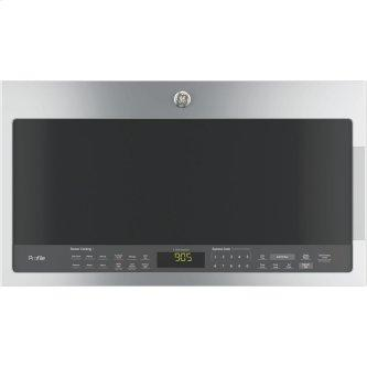 GE Profile 2.1 Cu.Ft. SpaceMaker Over-The-Range Microwave Oven Stainless Steel PVM2188SJC