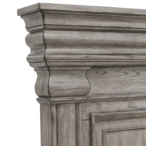 Pulaski Furniture - Madison Ridge Queen Panel Headboard in Heritage Taupe