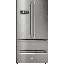 "Refrigerator LA CUCINA 36"" French door Stainless steel French door, total no-frost, touch-control, ice maker"