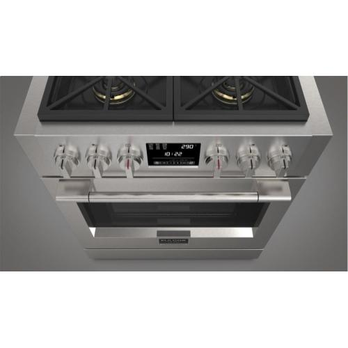 "30"" Dual Fuel Pro Range - Stainless Steel"