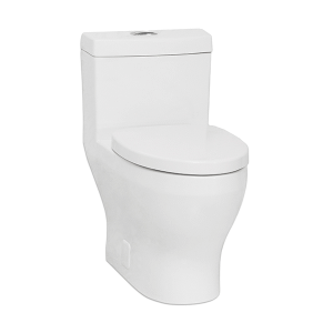White CADENCE One-Piece Toilet, Dual Flush Product Image