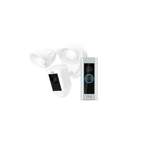Starter Pro Bundle (for Video Doorbell Pro with Floodlight Camera) - Black