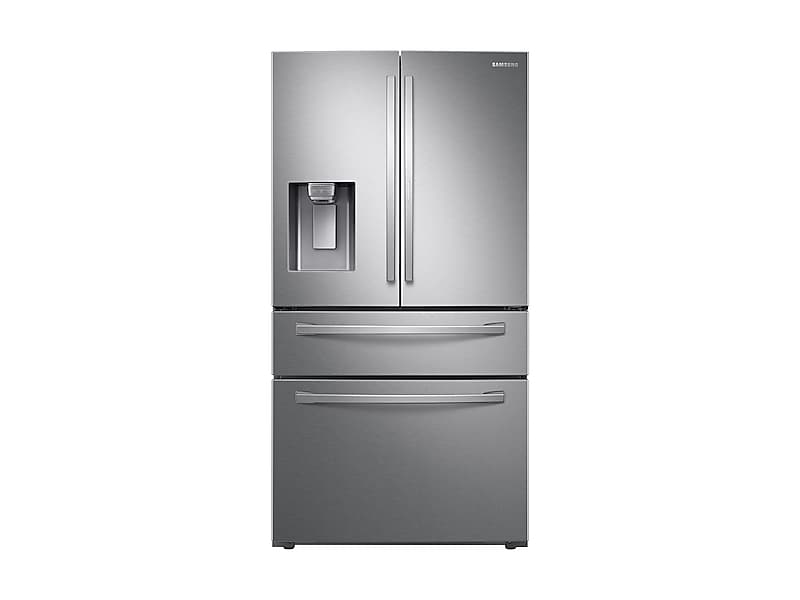 Samsung28 Cu. Ft. Food Showcase 4-Door French Door Refrigerator In Stainless Steel