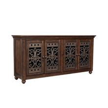 See Details - Paisley Court Storage Buffet, Tobacco Brown
