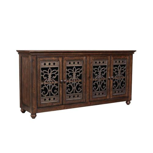 Gallery - Paisley Court Storage Buffet, Tobacco Brown