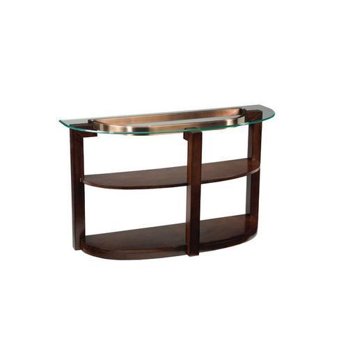 Gallery - Coronado Sofa Table with Casters, Brown