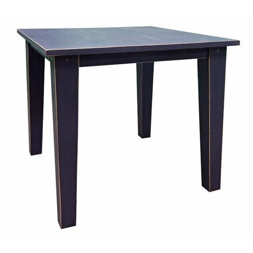 "Ant Black Hydr 42"" Pub Table"