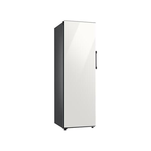 11.4 cu. ft. BESPOKE Flex Column refrigerator with customizable colors and flexible design in White Glass