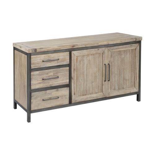 Cork County 2-door 3-drawer Credenza