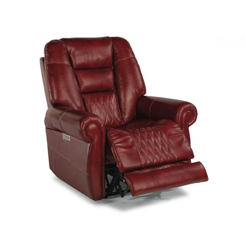Maverick Power Recliner with Power Headrest & Lumbar
