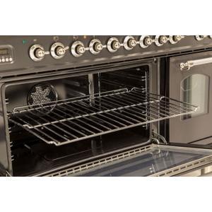 """Ilve - Oven Rack for 60 cm Oven (24"""" Range, 40"""" Maxi Oven Range, 36"""" Maxi Oven Professional Plus Double Oven Range, or 60"""" Mini Oven Range)"""