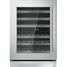 Freedom® Wine cooler with glass door 24'' Professional T24UW910LS