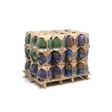 One Ring Planter Half Pallet Assortment (Set of 1, 3 colors, 12/ea, 36pc)