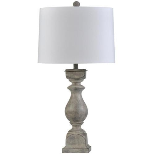 Grayson Gray  Traditional Table Lamp  150W  3-Way  Hardback Shade