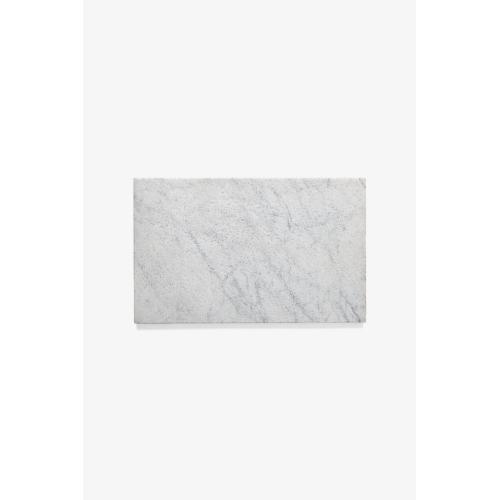 "Keystone Decorative Field Tile Antiqued with Clean Edge 10"" x 16"" x 3/4"" in Carrara"