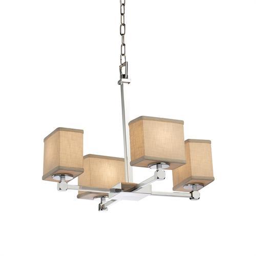 Tetra 4-Light Chandelier