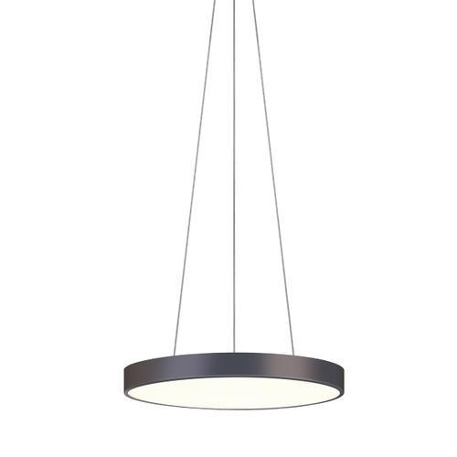 "Sonneman - A Way of Light - Pi LED Pendant [Size=20"", Color/Finish=Black Bronze]"