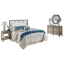 Montreal 4 PC King Bedroom Set