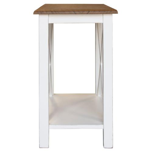 Accent Table, Available in Hampton Brown or Hampton Grey Finish.