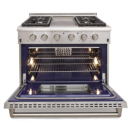 "Model KRG3609U - 36"" Pro Class Kitchen Range"