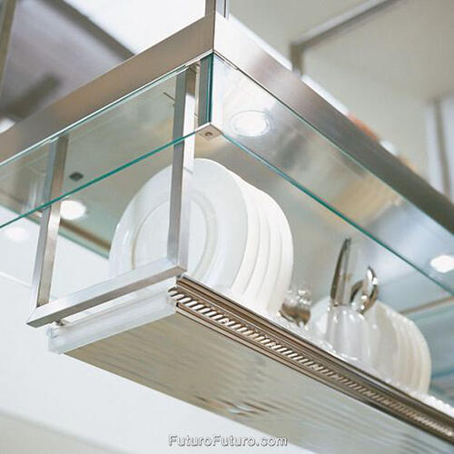 "Futuro Futuro - 36"" Designer Shelf (+dish Rack)"