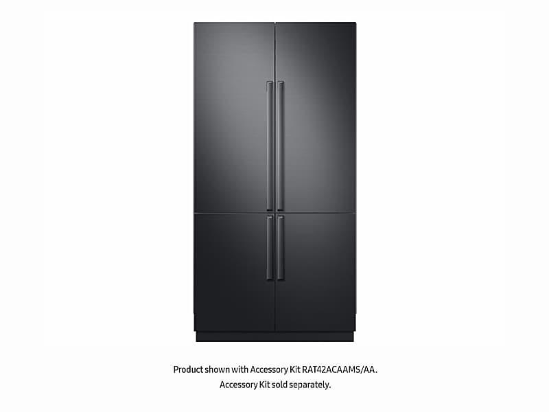 "Samsung24 Cu Ft. Capacity 4-Door French Door Panel Ready 42"" Built-In Chef Collection Refrigerator"