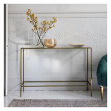GA Rothbury Console Table Bronze