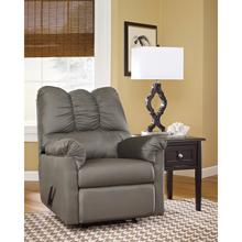 Signature Design by Ashley Darcy Rocker Recliner in Cobblestone Microfiber [FSD-1109REC-COB-GG]