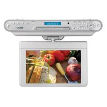 See Details - 10 inch Widescreen TFT Under-the-Cabinet DVD/CD Player with Digital TV Tuner