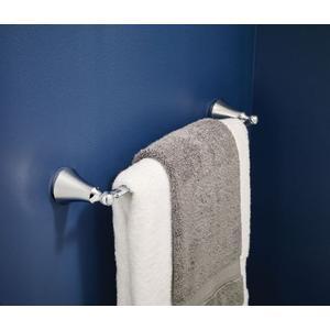 """Wynford chrome 24"""" towel bar"""
