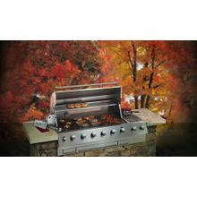 """Electrolux ICON™ Outdoor Kitchens 57"""" Natural Gas Built-In Grill"""