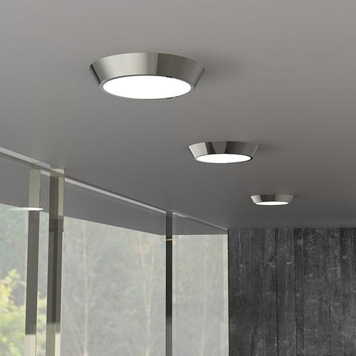 "Sonneman - A Way of Light - Oculus LED Surface Mount [Size=13"", Color/Finish=Satin White]"