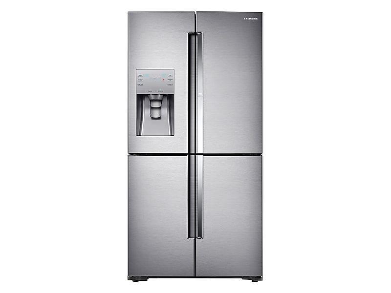 Samsung22 Cu. Ft. Food Showcase Counter Depth 4-Door Flex™ Refrigerator With Flexzone™ In Stainless Steel