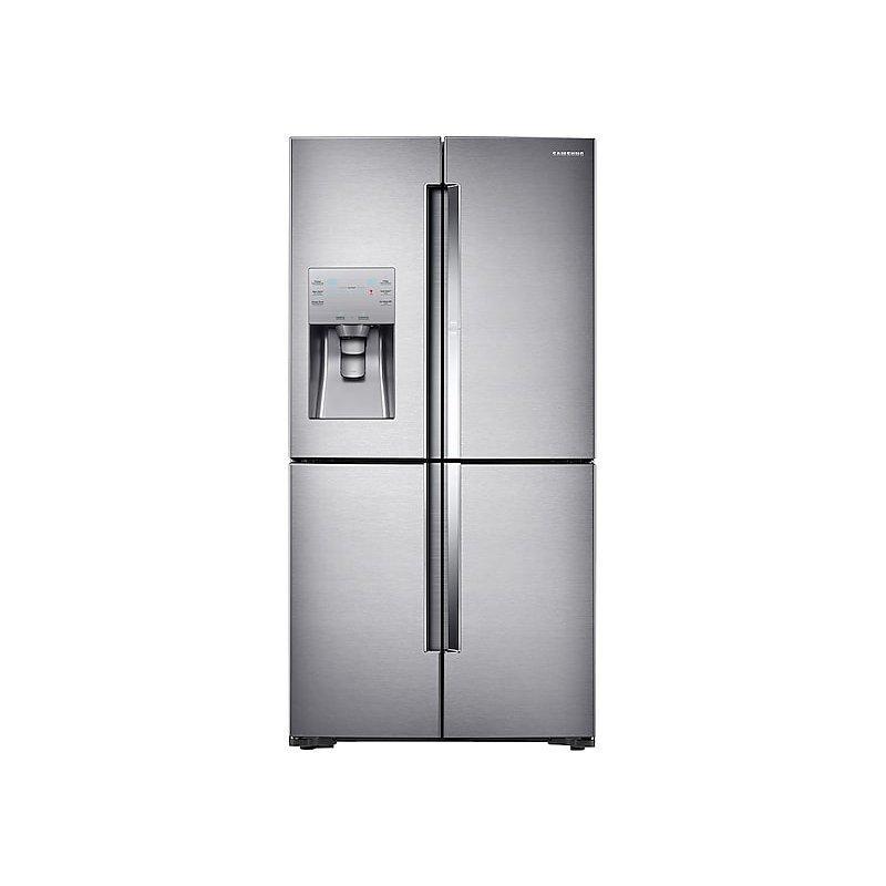 22 cu. ft. Food Showcase Counter Depth 4-Door Flex™ Refrigerator with FlexZone™ in Stainless Steel