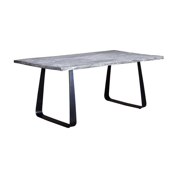 See Details - Crossover Gray Dining Tables with different bases, SB-AUT-64G